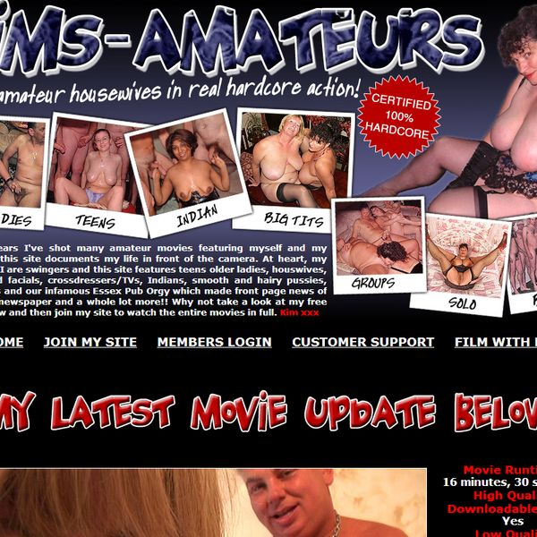 Click here to enter kims-amateurs.com